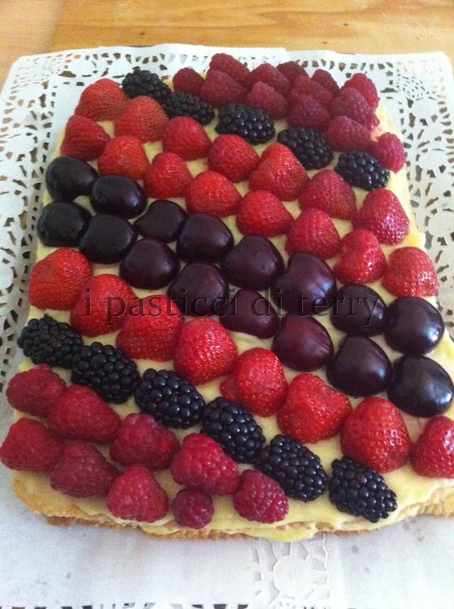 Sfoglia con crema e frutta 026