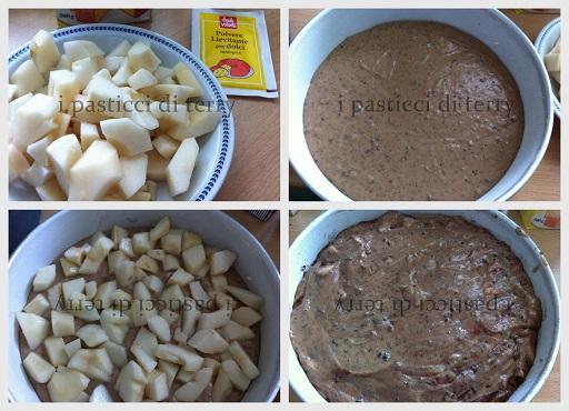 Torta cioccolato e pere con bimby