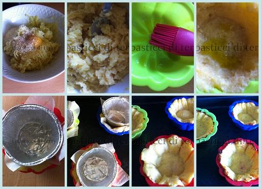 Cestini di patata alla veneziana