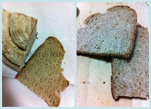 Chiocciola di pane con farine miste e latticello