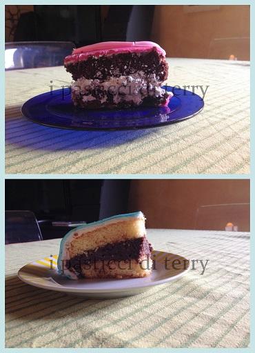 Torta Peppa pig la fetta