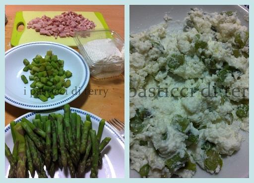 Calzoni asparagi ricotta e prosciutto2
