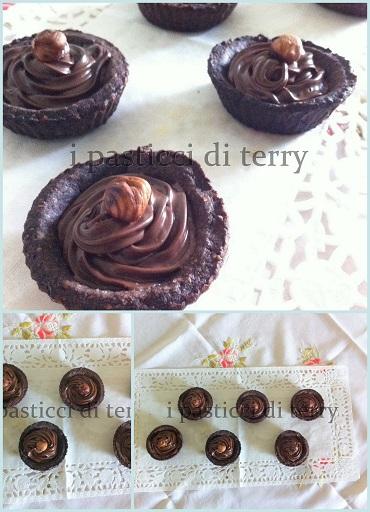 Tartellette di cioccolato