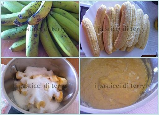 Marmellata di banane e vaniglia