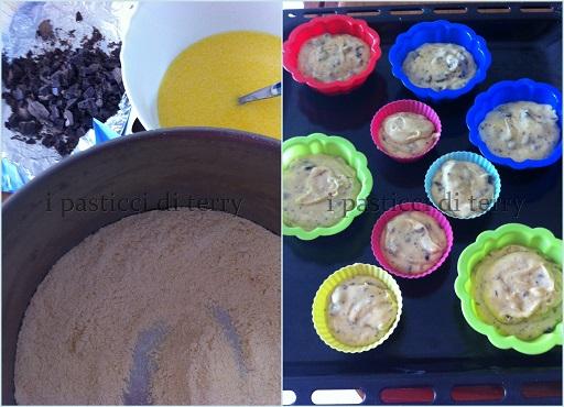 Muffin di farina di mais