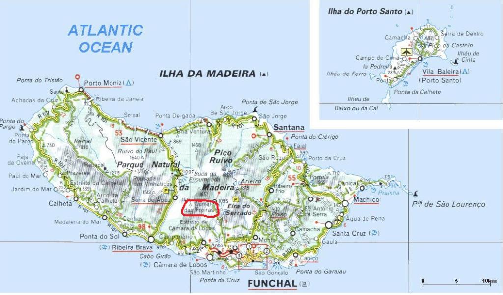 Cartina-Isola-di-Madeira-e-Porto-Santo