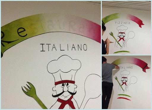 Te la do io l'Italia collage