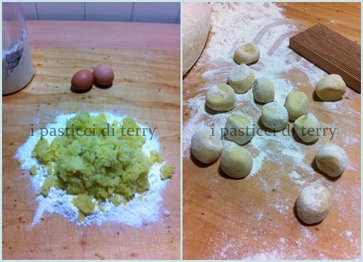 Gnocchi di patate con sugo di pollo