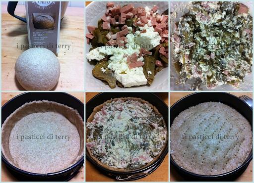 Torta salata Scrigno ai carciofi