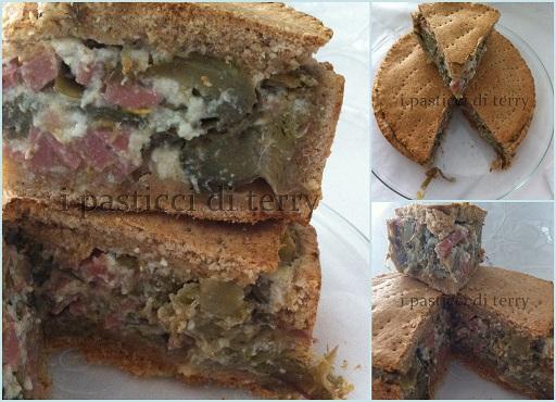 Torta salata Scrigno ai carciofi1