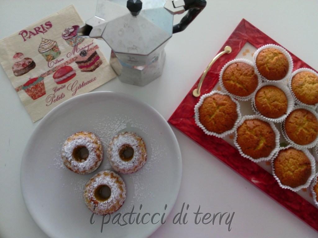 Ciambelline e Muffin zucca e mandorle (1)