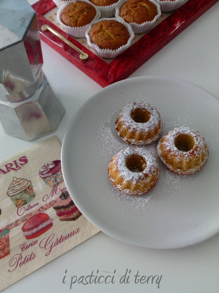 Ciambelline e Muffin zucca e mandorle (2)