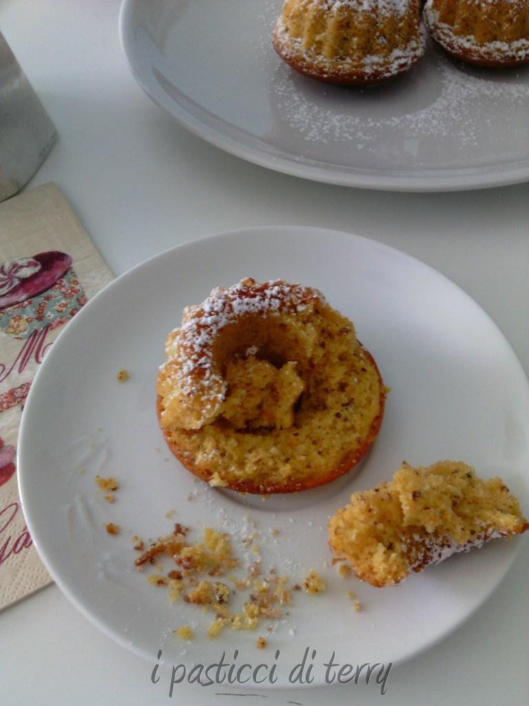 Ciambelline e Muffin zucca e mandorle (4)