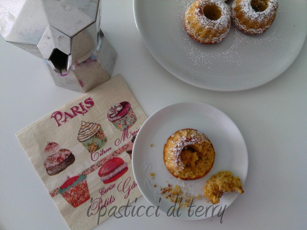 Ciambelline e Muffin zucca e mandorle (5)