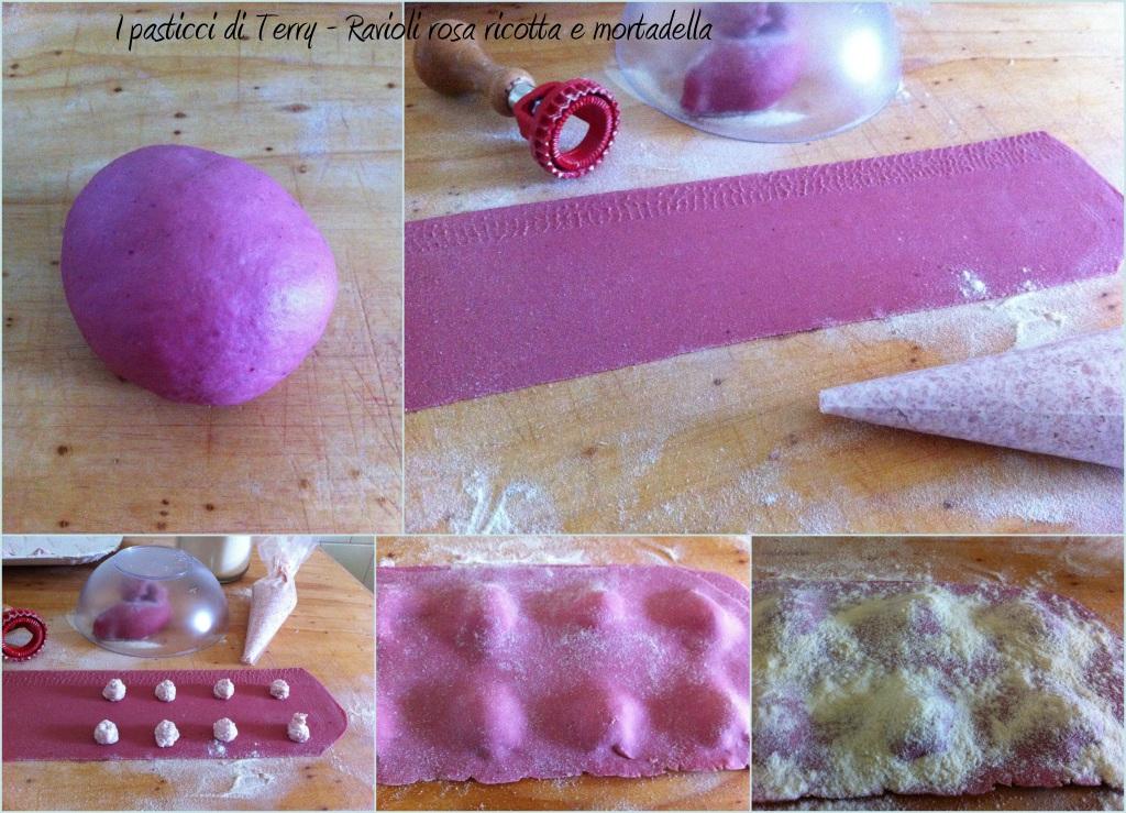 Ravioli rosa ricotta e mortadella (4)