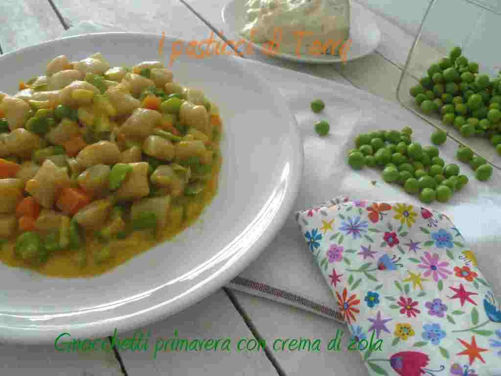 Gnocchetti primavera con salsa di zola (10)