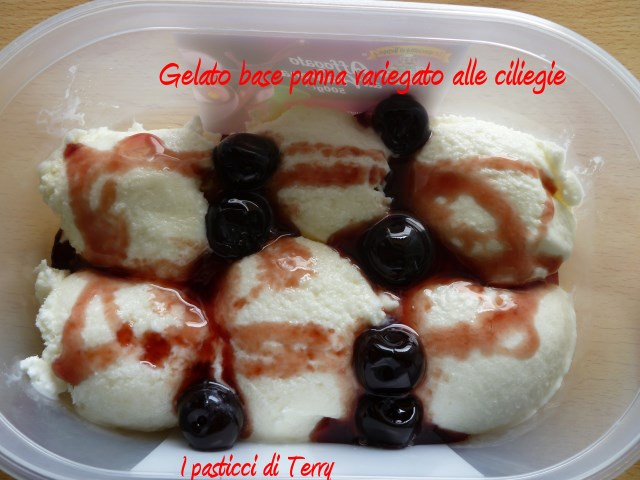 Gelato base panna per variegato (3)