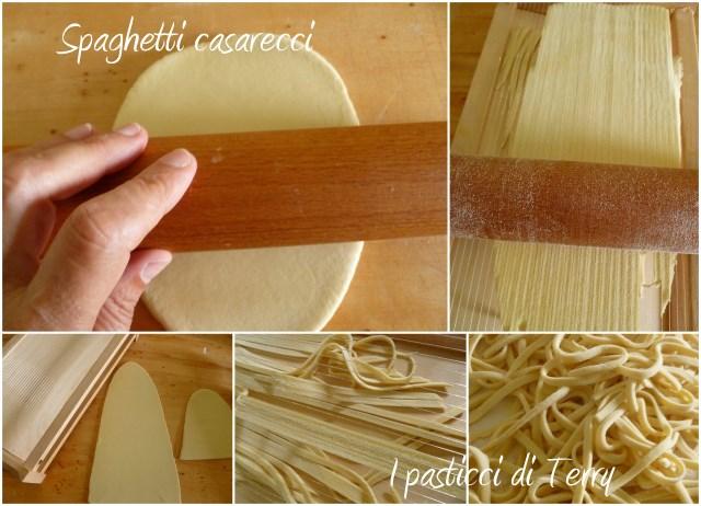 Spaghetti caserecci alle zucchine