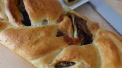 Treccia con radicchio e mozzarella (4)