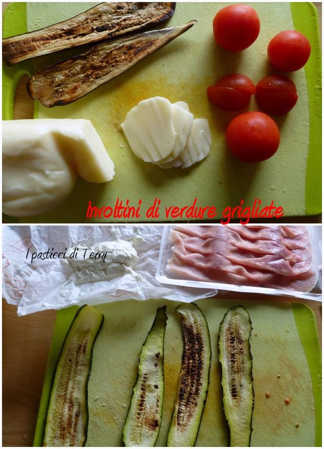 Involtini di verdure grigliate