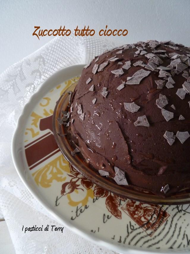 Zuccotto tutto cioccolato (6)