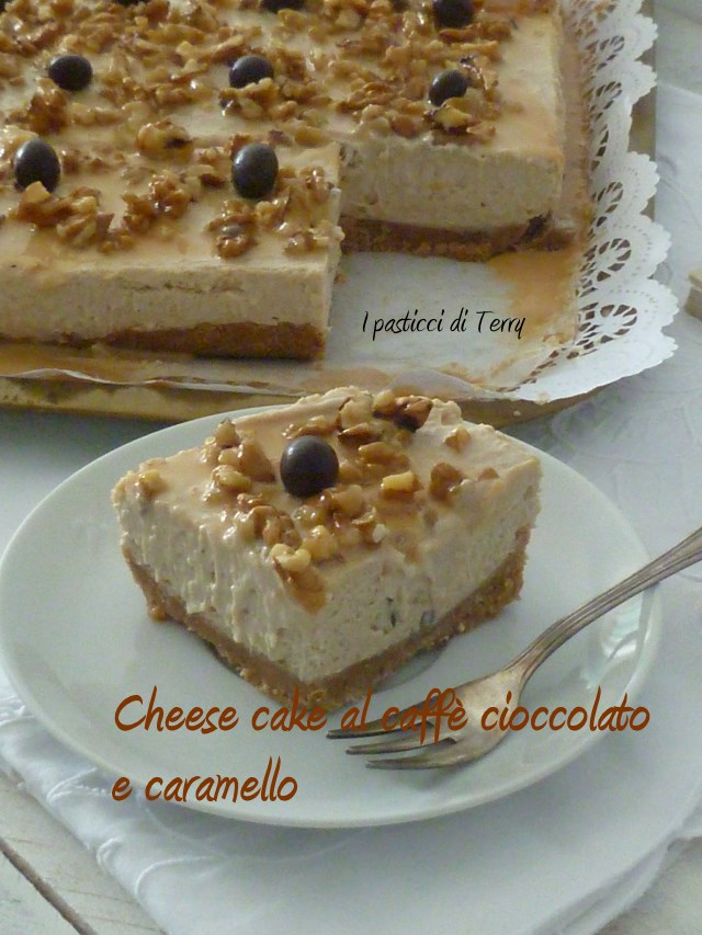 ae1d95bd695e Semifreddo - Cheesecakes al caffè cioccolato bianco e caramello -