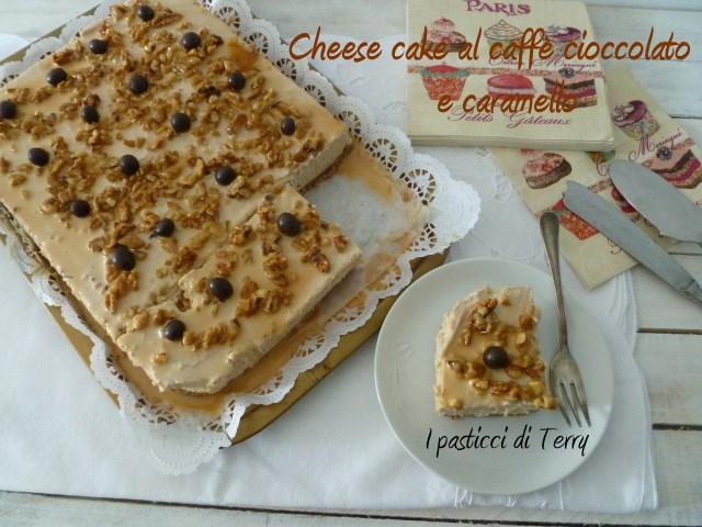 Cheese cake al caffè cioccolato e caramello (9)