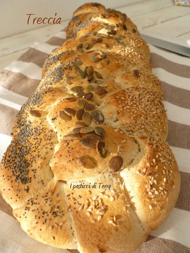 Treccia di pane ai semi vari (3)