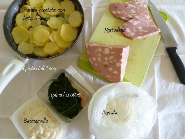 Pasticcio di patate spinaci e .. (3)
