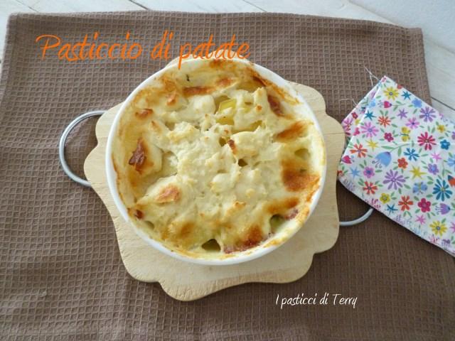Pasticcio di patate spinaci e .. (4)