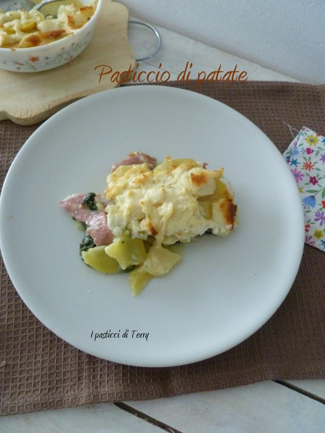 Pasticcio di patate spinaci e .. (6)