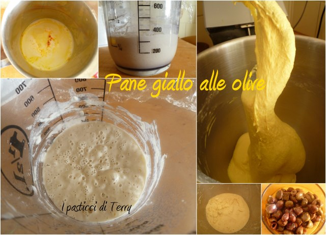 Sole giallo alle olive