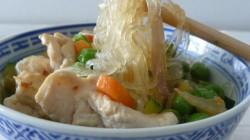 Vermicelli di soia con pollo e verdure (4)
