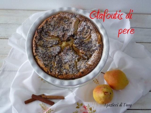 Clafoutis pere cioccolato #recake08 (2)