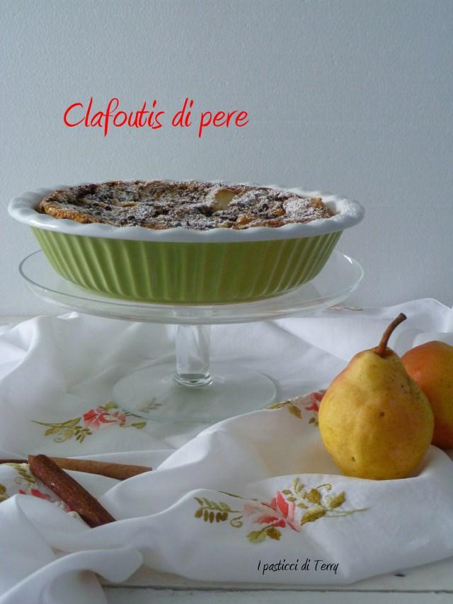 Clafoutis pere cioccolato #recake08 (3)