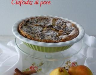 Clafoutis pere e cioccolato ridotta