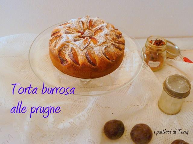 Torta burrosa alle prugne (10)