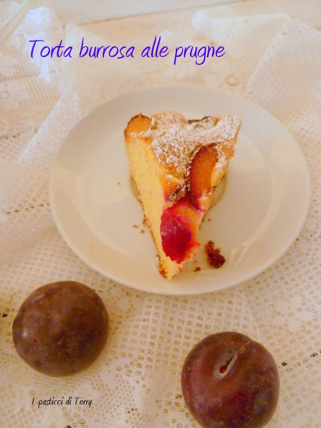 Torta burrosa alle prugne (14)