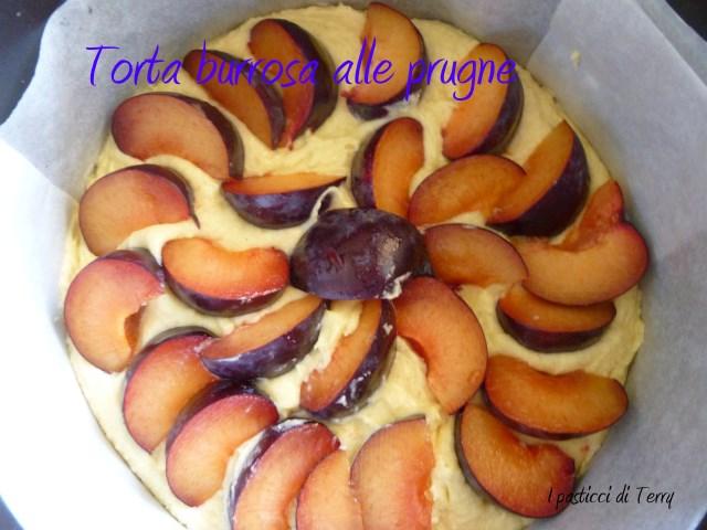 Torta burrosa alle prugne (3)