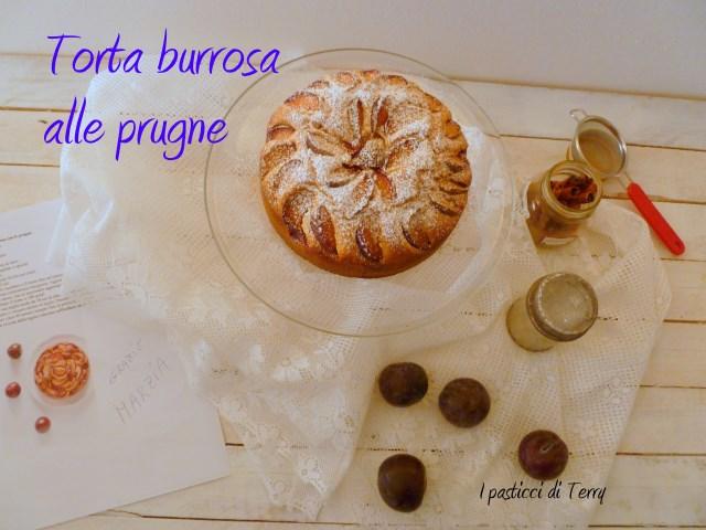 Torta burrosa alle prugne (6)