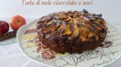 Torta di mele cioccolato e noci (9) copertina