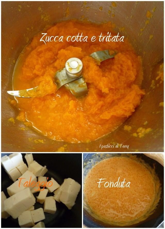 Chiocciole con fonduta di zucca e taleggio1