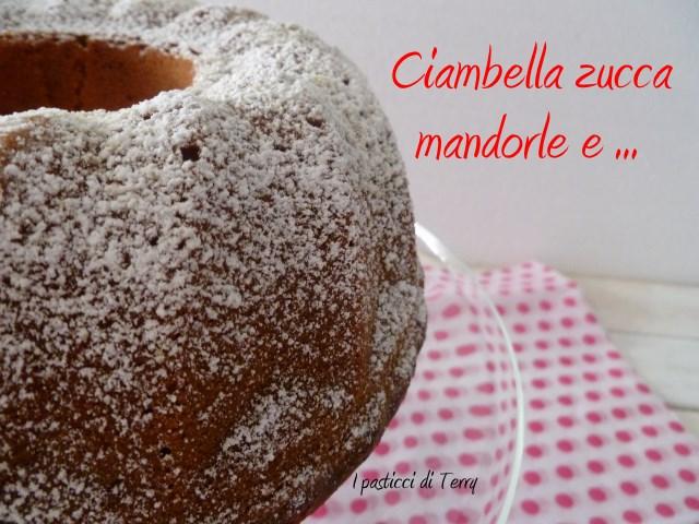 Ciambella zucca mandorle e .. (4)