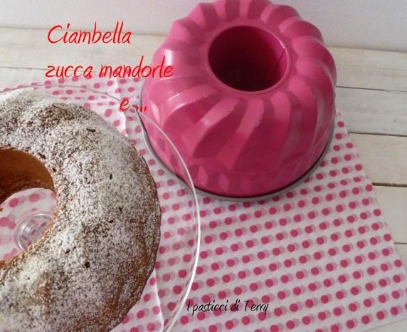 Ciambella zucca mandorle e .. (6)