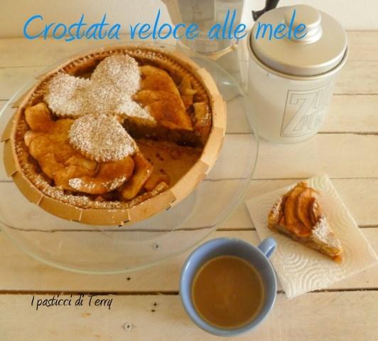 Torta - Crostata veloce alle mele (10)