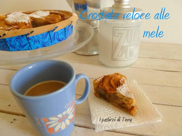 Torta - Crostata veloce alle mele (12)