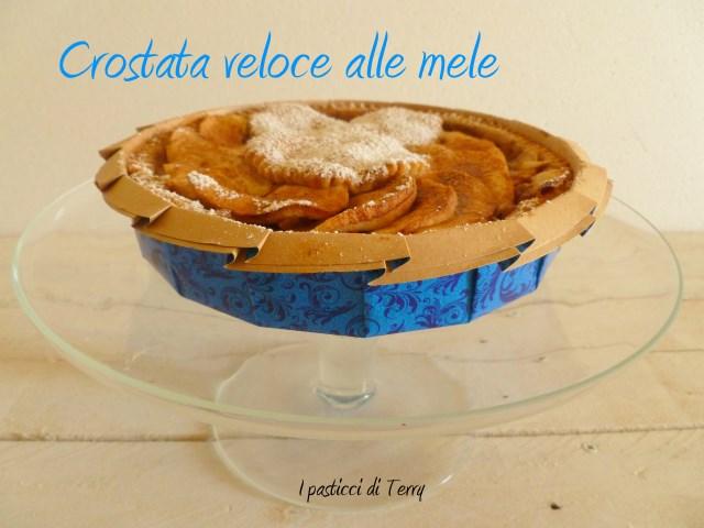 Torta - Crostata veloce alle mele (5)