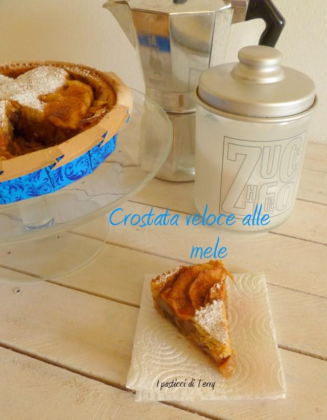 Torta - Crostata veloce alle mele (9)