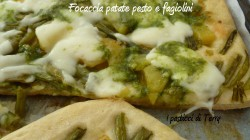 Focaccia patate pesto e fagiolini (12)