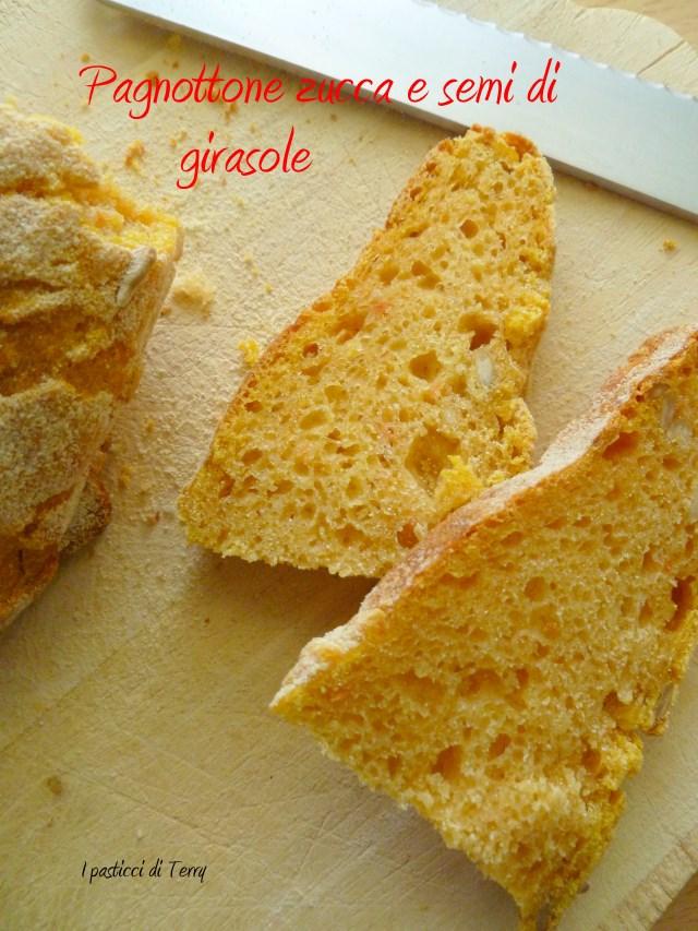 Pane - Pagnottone zucca e semi di girasole (23)